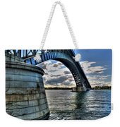 011  Peace Bridge Series II Beautiful Skies Weekender Tote Bag