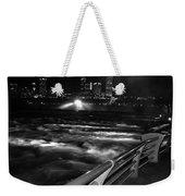 012 Niagara Falls Usa Rapids Series Weekender Tote Bag