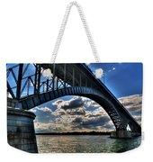 012  Peace Bridge Series II Beautiful Skies Weekender Tote Bag