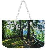 012a Niagara Gorge Trail Series  Weekender Tote Bag