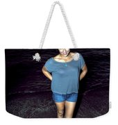 013 A Sunset With Eyes That Smile Soothing Sounds Of Waves For Miles Portrait Series Weekender Tote Bag