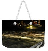 013 Niagara Falls Usa Rapids Series Weekender Tote Bag