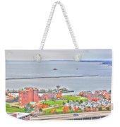 013 Series Of Buffalo Ny Via Birds Eye Erie Basin Marina Weekender Tote Bag