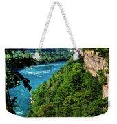 014 Niagara Gorge Trail Series  Weekender Tote Bag