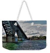 014 Peace Bridge Series II Beautiful Skies Weekender Tote Bag