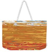0145 Abstract Landscape Weekender Tote Bag
