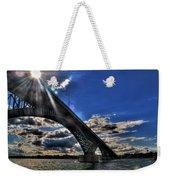 016 Peace Bridge Series II Beautiful Skies Weekender Tote Bag