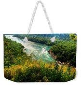 019 Niagara Gorge Trail Series  Weekender Tote Bag