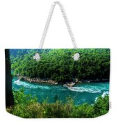 022 Niagara Gorge Trail Series  Weekender Tote Bag