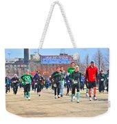 039 Shamrock Run Series Weekender Tote Bag