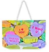 04 Valentines Series Weekender Tote Bag