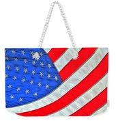 05 American Flag Weekender Tote Bag