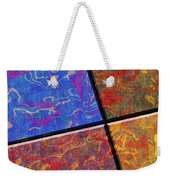 0580 Abstract Thought Weekender Tote Bag