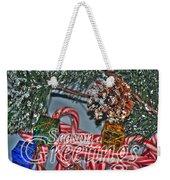 06 Christmas Cards Weekender Tote Bag