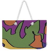 0638 Abstract Thought Weekender Tote Bag