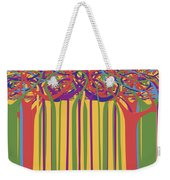 0706 Abstract Thought Weekender Tote Bag