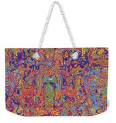 0707 Abstract Thought Weekender Tote Bag
