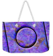 0711 Abstract Thought Weekender Tote Bag