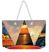 0a Relaxing Sunsets Collage Weekender Tote Bag