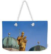 Towers Of Frauenkirche Weekender Tote Bag