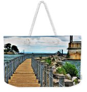 001 Peace Bridge Series Weekender Tote Bag