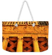 006 Wakening Architectural Dynamics Weekender Tote Bag