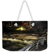 012 Niagara Falls Usa Rapids Series Weekender Tote Bag
