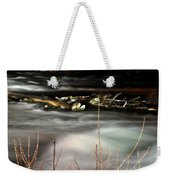 05 Niagara Falls Usa Rapids Series Weekender Tote Bag