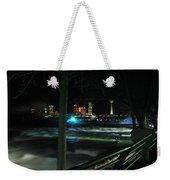 09 Niagara Falls Usa Rapids Series Weekender Tote Bag