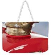 1928 Buick Custom Speedster Hood Ornament Weekender Tote Bag
