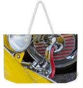 1929 Ford Model A Roadster Wheel Weekender Tote Bag