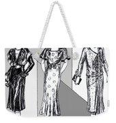 1930s Dresses Weekender Tote Bag