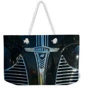 1940 Pontiac Weekender Tote Bag