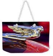 1941 Cadillac Hood Ornament Weekender Tote Bag