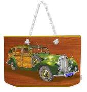 1947 Bentley Shooting Brake Weekender Tote Bag by Jack Pumphrey
