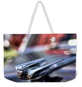 1949 Cadillac Hood Ornament Weekender Tote Bag