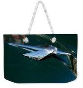 1950 Mercury Hood Ornament Weekender Tote Bag
