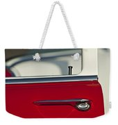 1955 Chevrolet 210 Door Handle Weekender Tote Bag