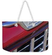 1955 Chevrolet Pickup Truck Grille Emblem Weekender Tote Bag
