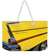 1957 Chevrolet Taillight Weekender Tote Bag