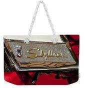 1957 Ford Skyliner Retractable Hardtop Emblem Weekender Tote Bag