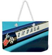 1959 Chevrolet Impala Emblem Weekender Tote Bag