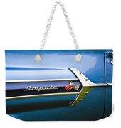 1960 Chevrolet Impala Emblem Weekender Tote Bag