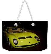 1968 Lamborghini Miura S Weekender Tote Bag