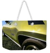 1971 Plymouth Gtx Weekender Tote Bag by Gordon Dean II