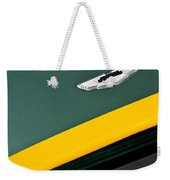 1993 Aston Martin Dbr2 Recreation Hood Emblem Weekender Tote Bag by Jill Reger