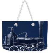 19th Century Locomotive Weekender Tote Bag