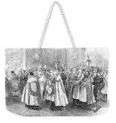 1st Vatican Council, 1869 Weekender Tote Bag