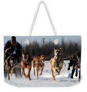 2011 Limited North American Sled Dog Race Weekender Tote Bag