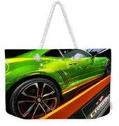 2012 Chevy Camaro Hot Wheels Concept Weekender Tote Bag by Gordon Dean II